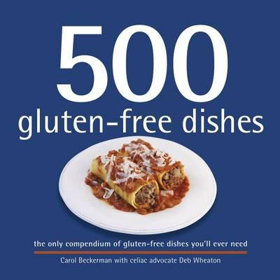 500 gluten free dishes book cover