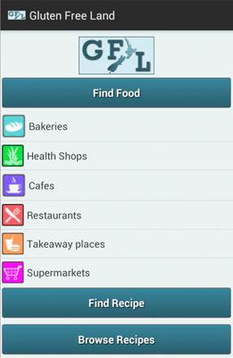 screenshot of GFL Android App