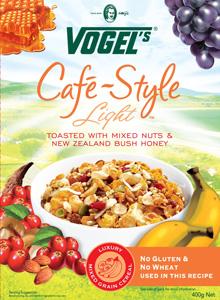 Vogels Café Style Light Cereal