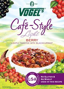 Vogels Café Style Light Berry Cereal