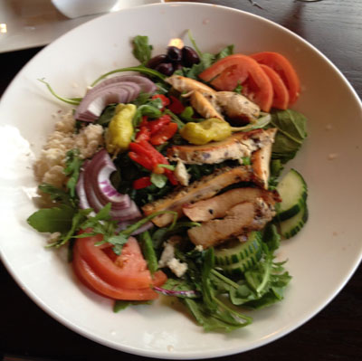 Chicken Salad at a Cafe in Charlotte