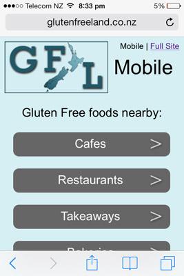 Gluten Free Land Mobile