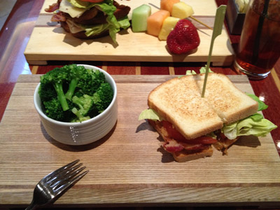 BLT at the Hilton in Charlotte, NC