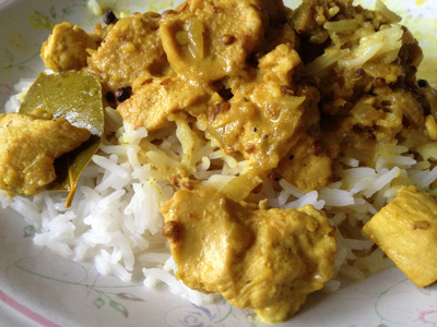 My Moghul Chicken Korma