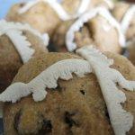 Hot Cross Buns (breadmaker)