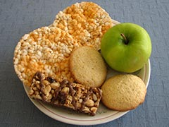 picture of a plate of snacks